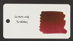 Diamine Syrah - Word Card