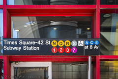 Times Square-42 St Station (SamuelWalters74) Tags: newyorkcity newyork unitedstates manhattan timessquare nycsubway theaterdistrict