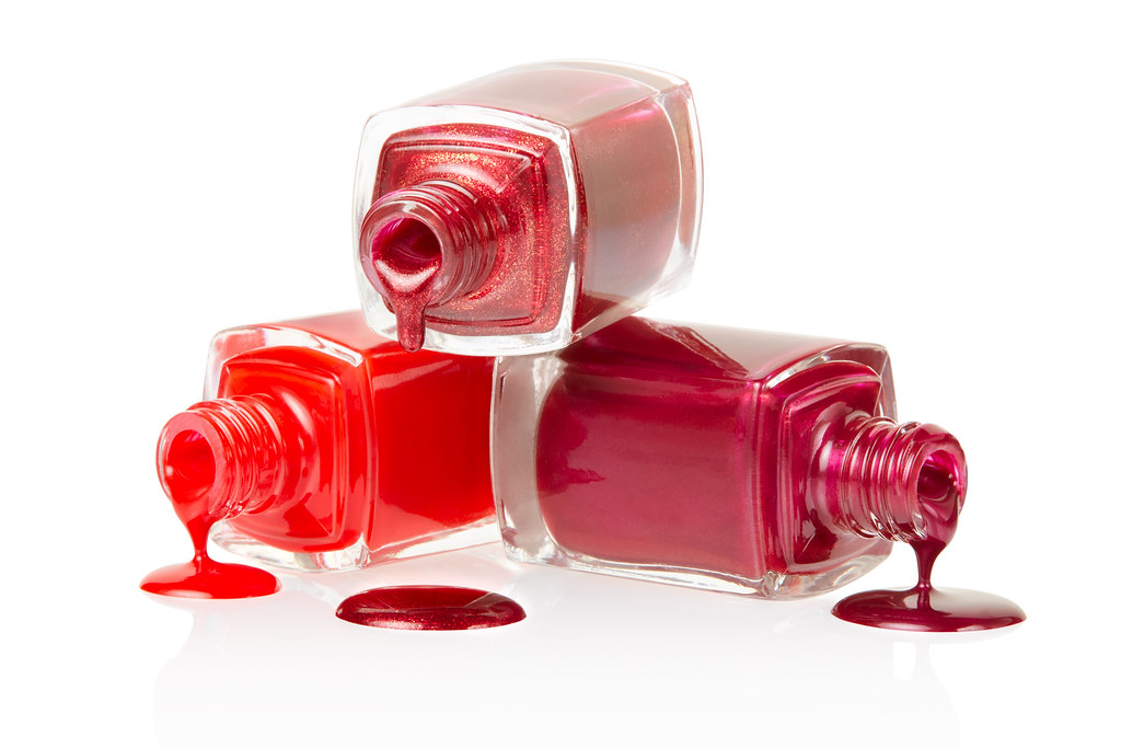 spilled nail polish coloring pages - photo#45