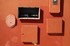 Lisbon#114 (wotanseyepatch) Tags: orange graffiti lisboa lisbon boxes walls carcavelos