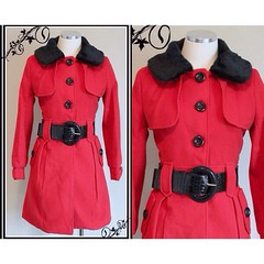 Handmade 1930's replica coat. Shop link... (sweetloveofminecom) Tags: militaryjacket sweetloveofmine uploaded:by=flickstagram instagram:photo=968889648018812967277703515