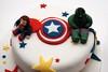 Superhero cake (paul cripps) Tags: cake spiderman superman superhero captainamerica incrediblehulk