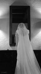 Finishing Touches (meganhaysbarzizza) Tags: blackandwhite bride veil editorial weddings weddingdress