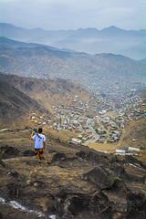 Civilization? (eferank) Tags: mountain peru photography grey dawn nikon desert lima capital andes 5200 civilization desierto andres suburbios