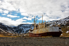 Boat (Christian Pozzi) Tags: travel snow bus ice airplane iceland ship glacier crater geyser