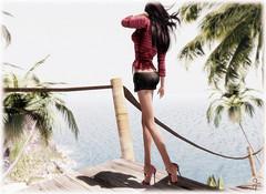 Face the heat (VeraCruza) Tags: fashion flickr sl secondlife gift heels hautecouture belleza maitreya slink slfashion fashionart groupgift flickrunitedaward brahamdesign kccouture klari55aresident anteasnake