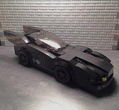 Batmobile, version 4.1 (njgiants73) Tags: city dark comics dc lego batman knight superheroes gotham batmobile asylum origins arkham