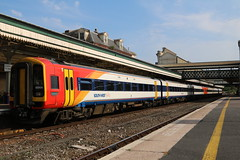159104 | South West Trains | Exeter St David's (Western Railway Photography) Tags: class 159 super sprinter south west trains swt mainline 159104 exeter st davids waterloo 159015 c6 overhaul