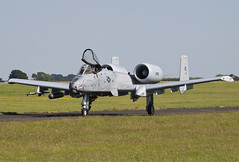 A-10c 79-123/KC 303rdFS/442ndFW based at Whiteman AFB, Missouri. is seen taxiing back to park, after landing on RWY14. 19/04/16 (waynebutton661) Tags: 190716 warthog thunderbolt tankbuster a10 raf usaf 442ndfw leeming hawgs 303rdfs