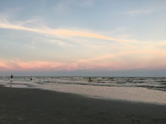 July 23rd - great way to begin and end a day in Galveston