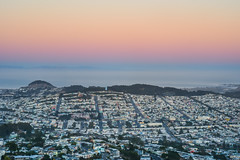 hidden among the clones (pbo31) Tags: sanfrancisco california city july 2016 nikon d810 summer boury pbo31bayarea color mtdavidson over view sunset rooftops orange mission outer sky hidden clones neighborhood