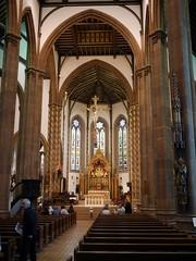 Basilica Of St. Chad - 13 (the justified sinner) Tags: church birmingham christ basilica gothic victorian panasonic crucifix 17 20mm westmidlands crucifixion stchad augustuspugin gx7 justifiedsinner