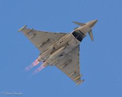 Typhoon RAF Coningsby (dave savidge) Tags: planes uk england raf fast jets typhoon nikon military aviation