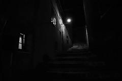 Luce (stefano.nardi) Tags: camera light urban blackandwhite white black colors night composition dark underground photography lights design photo nice nikon cityscape nightscape outdoor luce citt urbanphotography cameralens 14mm 14mm28 samyang d3100