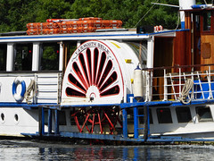 English Side Wheeler - Yarmouth Belle (Gilder Kate) Tags: englishsidewheeler 1892 paddleboat thethames thames riverthames river july path thamespath hightide yarmouthbelle petershammeadows pleasureboat panasoniclumixdmctz70 panasoniclumix panasonic lumix dmctz70 tz70