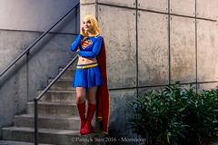 SP_44456 (Patcave) Tags: momocon momocon2016 2016 convention cosplay costumes cosplayers portrait shoot shot canon 1740mm f4 sigma 85mm f14 lens patcave 5d3 atlanta georgia world congress center outdoors hot humid dc comics supergirl maid might