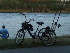 Fishing Bikes on Cape Cod Canal 2016 (wildukuleleman) Tags: canal fishing massachusetts bikes cape bourne cod 2016
