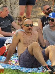 IMG_7049 (danimaniacs) Tags: party griffithpark hot sexy man guy shirtless hunk