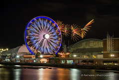 Happy Birthday Navy Pier!!! Navy Pier celebrates 100th Birthday. (Natasha J Photography) Tags: birthday happy pier fireworks navy 100th celebrates