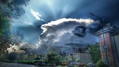 Thunder run (kevinmcnair) Tags: scotland stirlingshire callander glenogle thunder thundercloud cyclingscotland
