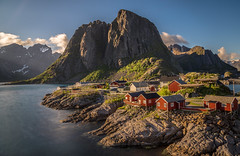 Magnificent memories - Lofoten, Norway (Eric Steinbrcker) Tags: lofoten norway norwegen 24105mm f4 canon sony alpha 7 r ilce7r ilce7 hamny