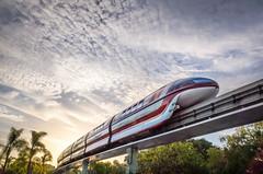It glides as softly as a cloud. (Dave Chiu) Tags: siggraph 2016 disney monorail anaheim