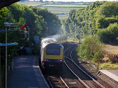 43174 Liskeard (2) (Marky7890) Tags: fgw gwr 43176 class43 hst 1c86 liskeard railway station cornwall train