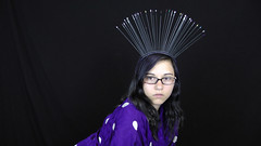 Audious Records (Audious Records) Tags: avantgarde kawaii lolita harajuku handmade made etsy experimental ethnic emo pastel goth fairy kei anime girl wig hair headpiece headdress