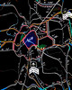 What Is The Best Road Out Of Paris? (amarcord108) Tags: amarcord108 map roadmap routes paris autoroutes enteredinsyb