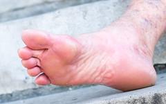 DSCF6437.jpg (taureal) Tags: mature barefoot soles candid female feet