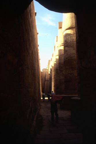"Ägypten 1999 (307) Karnak-Tempel: Hypostyl • <a style=""font-size:0.8em;"" href=""http://www.flickr.com/photos/69570948@N04/28700246772/"" target=""_blank"">View on Flickr</a>"