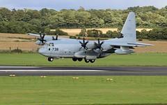 KC130J (TF102A) Tags: aviation aircraft c130 hercules lockheed prestwick kc130j usmarines