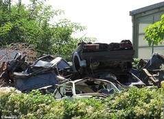 Graveyard (Alessio3373) Tags: graveyard scrapyard junkyard junkcars scrap scrapped scrappedcars abandoned abandonedcars abandonment unused unloved neglected forgotten forgottencars rust rusty rustycars ruggine corrosion corroded