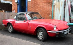GVY 750S (Nivek.Old.Gold) Tags: 1978 triumph spitfire 1500 pmwcars hull