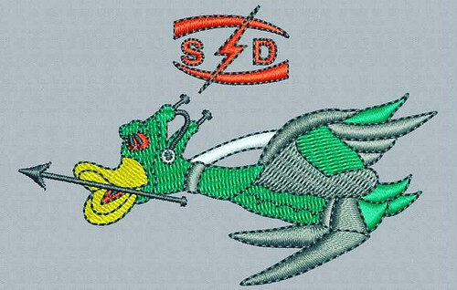 Digitized #goose - true flat rate embroidery digitizing - prices start at $5.99 per design. Email your artwork in pdf, jpg or png format to indiandigitizer@gmail.com. http://ift.tt/1LxKtC5 #FlatRateEmbroideryDigitizing #Indiandigitizer #embroiderydigitizi