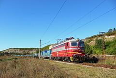 Export Sand (Krali Mirko) Tags: bdz bdztp bdzcargo freight cargo container train electric locomotive skoda 68e5 45 188 45188 sindel bulgaria railway transport