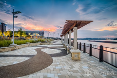 Sunset at Smothers park (AP Imagery) Tags: park sunset downtown barge owensboro smothers smotherspark riverfrontohioriver