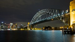Sydney Harbour (bloggs2064) Tags: city bridge water night easter photography lights exposure harbour sydney