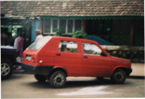 Sipani Montana (4-door Reliant Kitten derivative) built in India