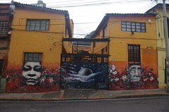 Street Art, Bogot, Colombia (ARNAUD_Z_VOYAGE) Tags: street city people urban cloud mountain mountains color colour building art church colors beautiful car clouds america landscape dc site amazing colombia bogota colours view action altitude bogot south capital centro central cities athens american huge region department metropolitan largest active centrale municipality the locality agglomeration sumapaz