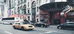 HH7_3012 (damienmc3) Tags: new york nyc usa newyork art yellow 35mm nikon taxi sigma d750 42nd madametussauds 42ndstreet 2015 sigmaart