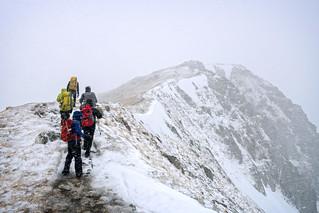 South Glen Shiel Ridge: Weather