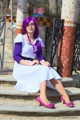 Rize (Miriam Photography.) Tags: barcelona japan jw ojo tokyo cosplay bcn lila marzo pelo ghoul rize 2015 weeken
