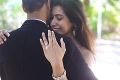 """I'm never letting you go..."" (Divya Shivaram) Tags: wedding colour love beautiful happy bride engagement couple pretty chennai engaged"