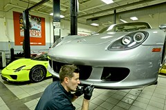 Porsche Carrera GT Paint Touch Up