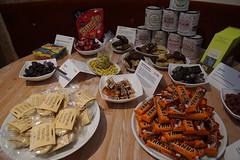 re:publica 15 Tag 3: Süße Vesuchung auf der rp: Erstmals beim Sweetup dabei, hier die Kostproben.