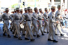 Anzac Day Brisbane 2015  100 years (Lance #) Tags: trooper uniform military parade soldiers uniforms troops