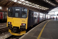 First Great Western Sprinter 150129 at Bristol, 28/04/2015. (MKT Transport Photography) Tags: diesel 150 multiple 129 unit gwr dmu