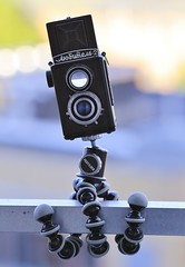 Lubitel 2 (©skarson) Tags: camera 120 film oslo norway analog mediumformat eos norge gear lubitel2 lubitel 135 120mm 135mm twinlensreflex 6d canonef135mmf2l gorillapod canoneos6d