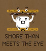 smore-than-meets-the-eye_600x660 (all_the_good_names_taken) Tags: food silly cute dessert funny chocolate character cartoon marshmallow snack treat puns